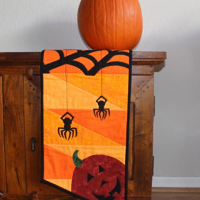 Spooky & Fun Halloween Table Runner