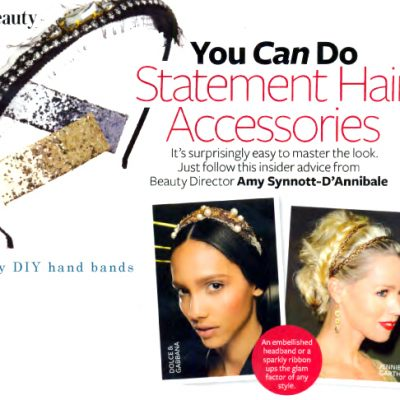 Statement Hair Accessories..