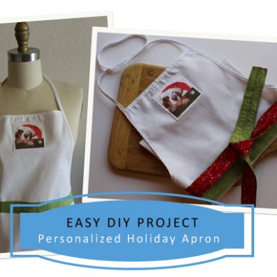 Holiday DIY – Make An Easy Apron