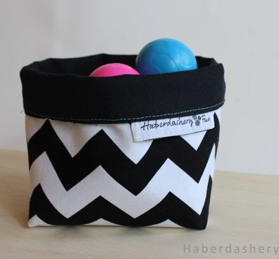 Sew An Easy Fabric Storage Bin