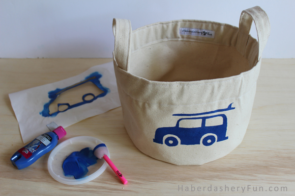 Genial How To Make A Cotton Canvas Storage Bin | Haberdashery Fun