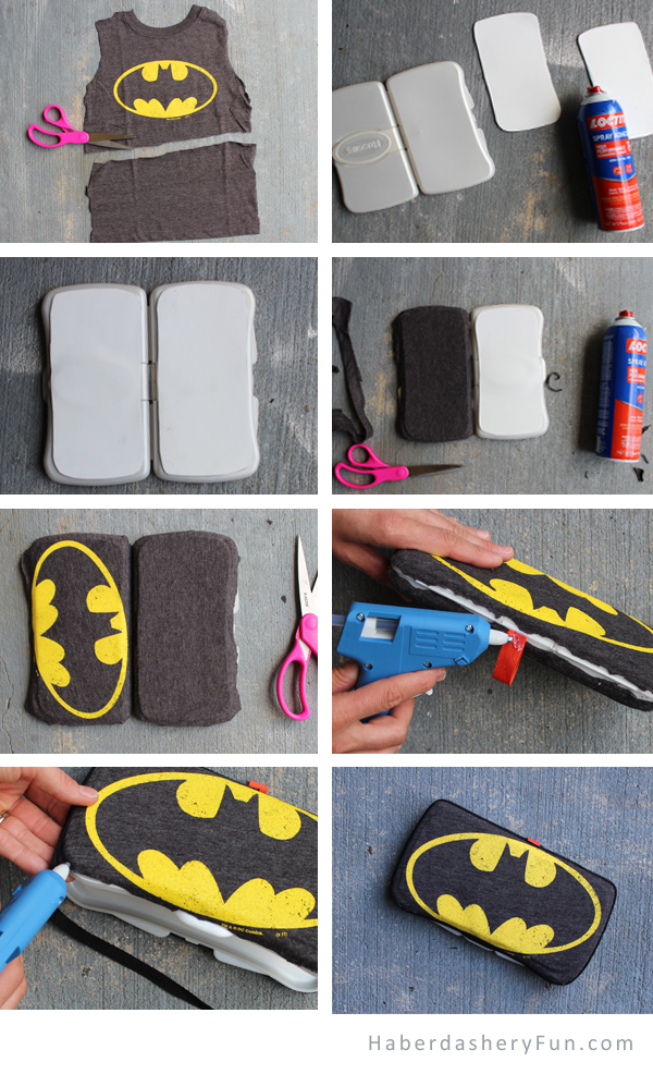 Diy Father S Day Superhero Wipes Case