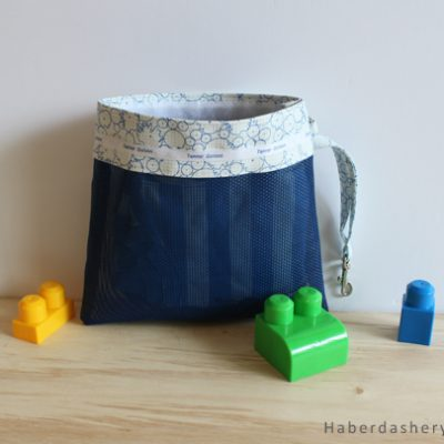 DIY.. Make A Daycare Mesh Pouch