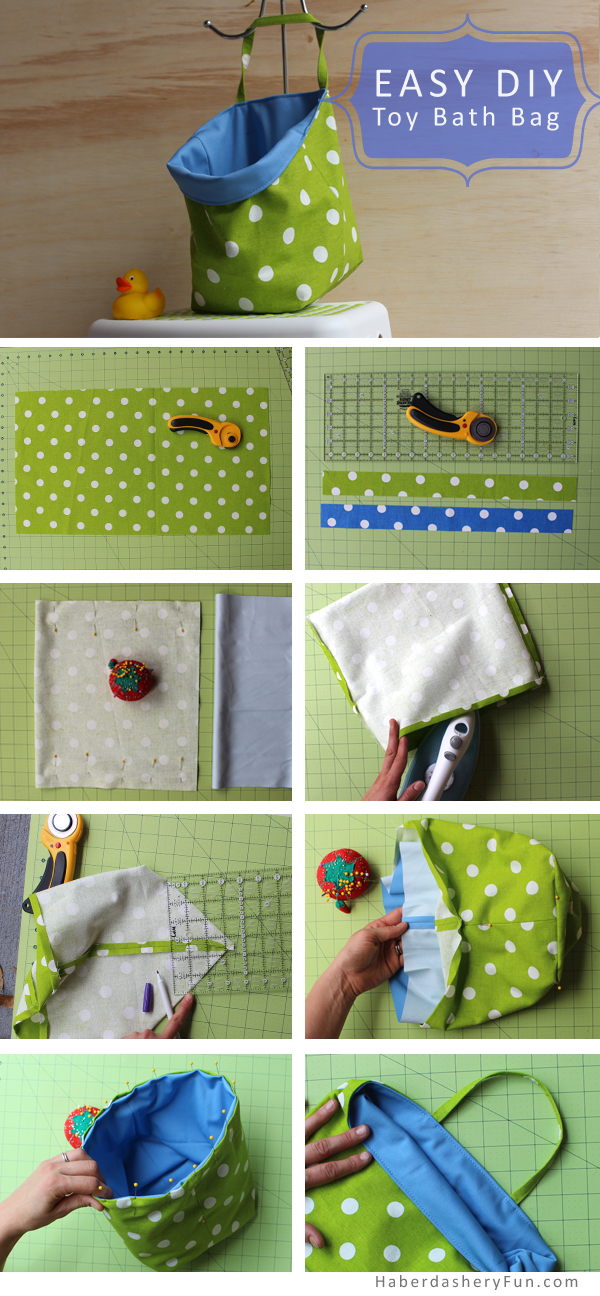 DIY.. Toy Bath Bag | Haberdashery Fun