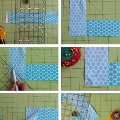 How To Sew Binding Strips Together..