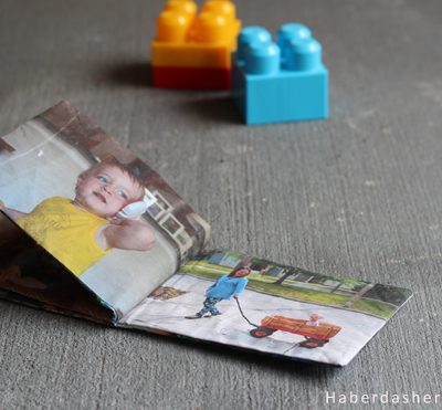 DIY.. Make A Little Hands Photo Book