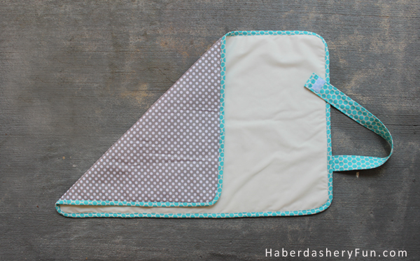 Diy On The Go Baby Changing Pad