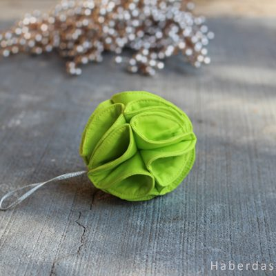 DIY.. Fabric Christmas Tree Ornament