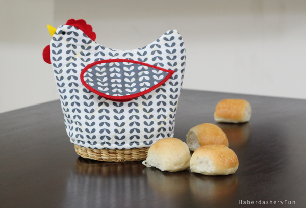 chicken bread basket cover
