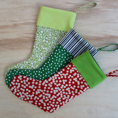 DIY.. Easy Christmas Stockings