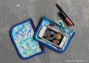 Diy Make A Vinyl And Fabric Cosmetic Pouch