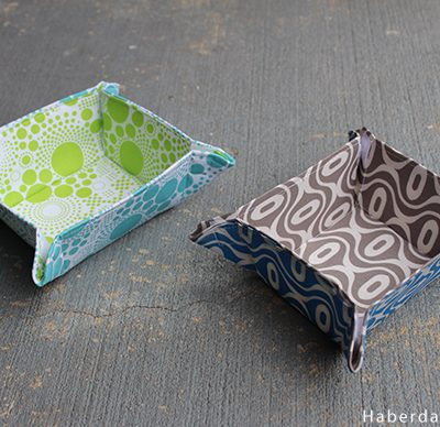 DIY.. Collapsible Fabric Bowls