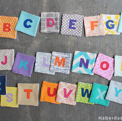 DIY.. Alphabet Coasters