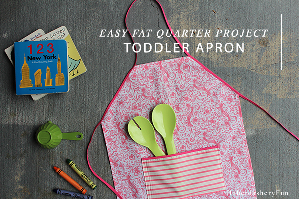 Sew A Toddler Apron