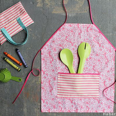 DIY.. Easy Toddler Apron