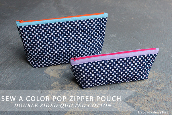 Color Pop Quilted Pouch Main