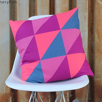 DIY.. Half Square Triangle Pillow