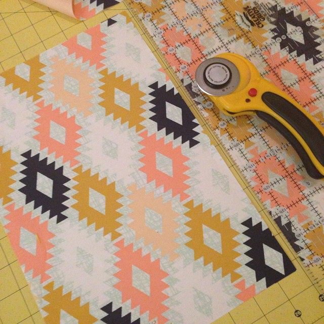Watching The Voice and having some fun.. #aprilrhodes #artgalleryfabrics #haberdasheryfun