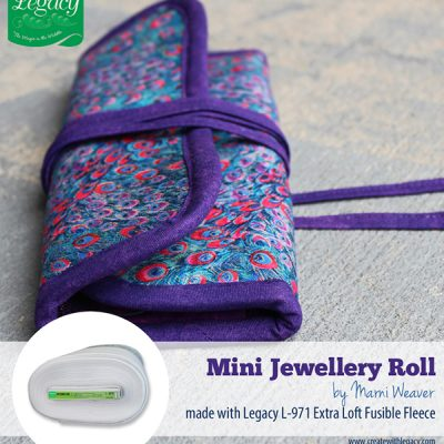 DIY.. Mini Jewelry Roll Now Available as Tear Sheet