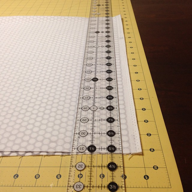 Hello new long ruler!! #creativegrids