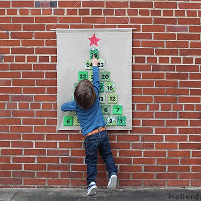 DIY.. Velcro Advent Calendar