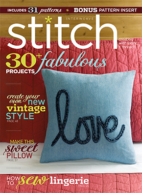 Featured In Stitch Magazine Winter 2014