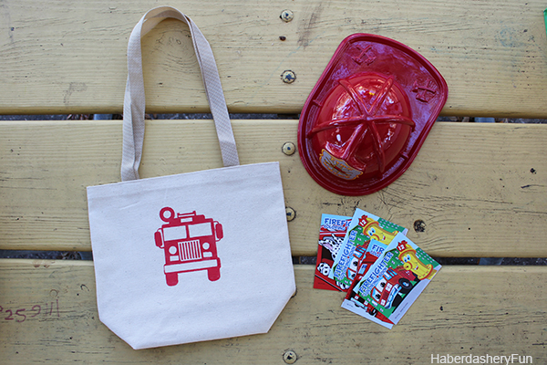 Firetruck Goodie bag