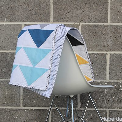 Sizzix Quilt Blog Hop – Easy Baby Quilt