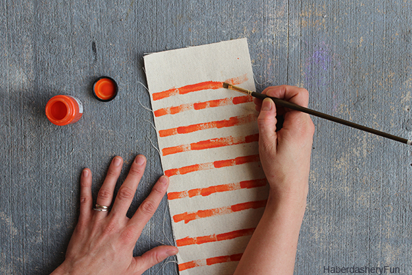 DIY.. Colorful Canvas Pouches | Haberdashery Fun
