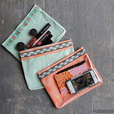 Vinyl & Ribbon Pouches – Ribbon Blog Tour