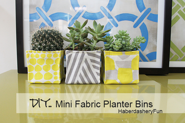 Fabric Planter Group Bin