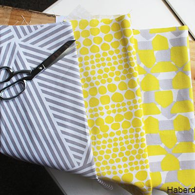 DIY.. Mini Fabric Planter Bins