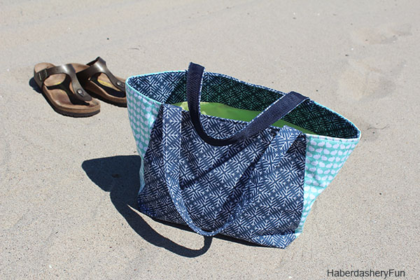 Curiosities Tote At the Beach