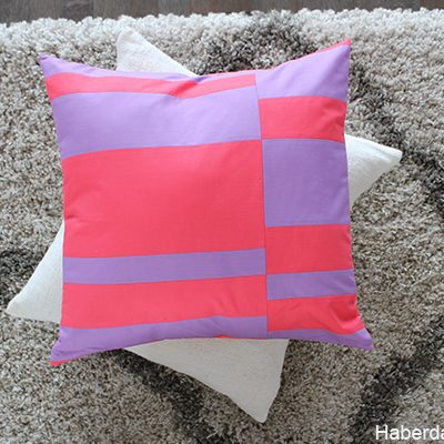Sew Bold Color Blocked Pillows + Giveaway
