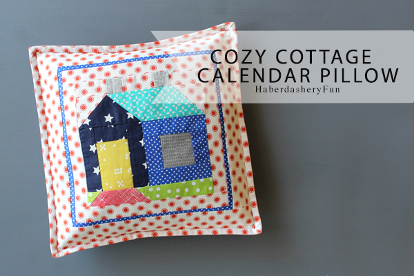 Cozy Cottage Calendar Pillow Main 2