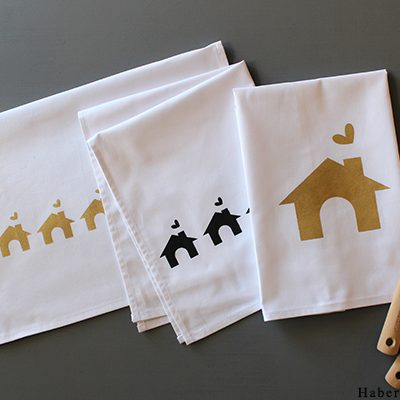 Make Printed Holiday Tea Towels