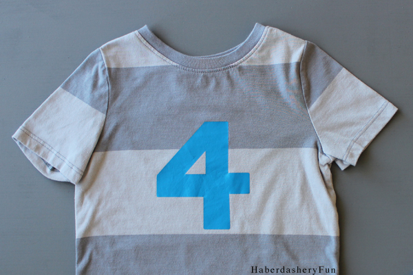 4 Birthday Shirt HaberdasheryFun