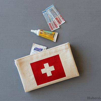 Sew An Emergency Travel Pouch