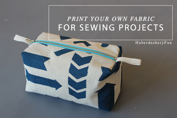 Print your own fabric for sewing projects Main