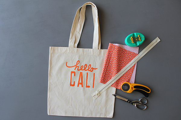 Sew A Shopping Tote Into A Zipper Pouch Haberdashery Fun