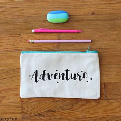 Make Fun Canvas Pencil Cases