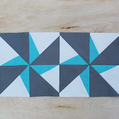 Bella Solids Lazy Angle Block