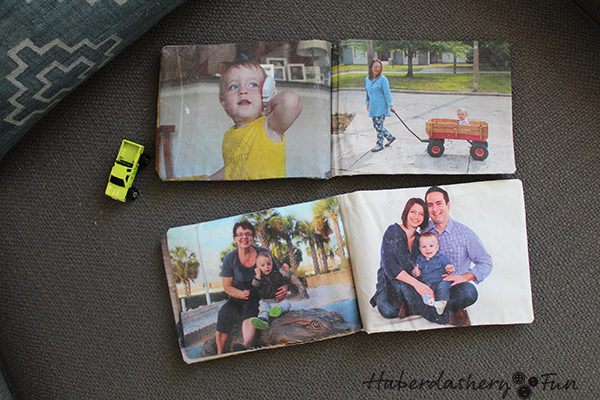 Make A Fabric Photo Book