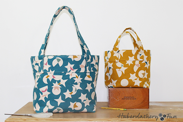 The Arlo Bucket Tote PDF sewing pattern is fun to make. Great for the beginner sewing, but also a fun sew for intermediate and advanced sewists.