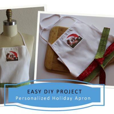 Holiday DIY – Make An Easy Apron