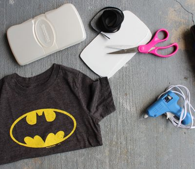 DIY.. Father's Day Superhero Wipes Case