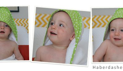 Giveaway!! Baby and Toddler Hooded Towel