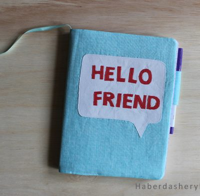 Sew A Long.. Make A Journal Cover