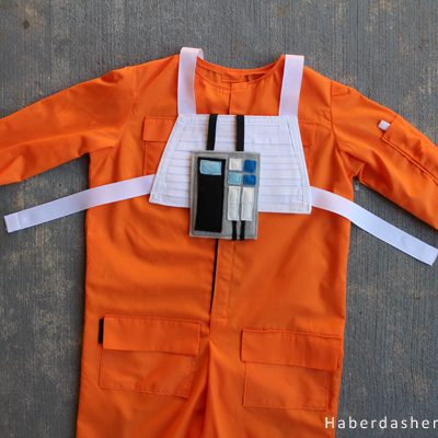 DIY.. Toddler Luke Skywalker Flight Suit