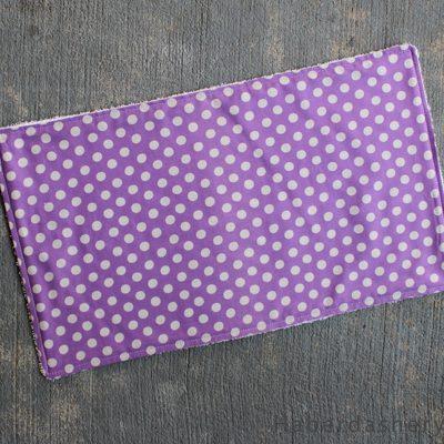 Sew A Super Easy Baby Burp Cloth